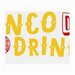 Cinco De Drinko Small Glasses Cloth by CraftyLittleNodes
