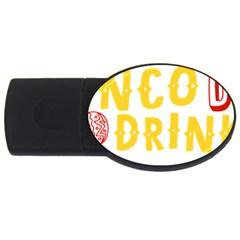 Cinco De Drinko Usb Flash Drive Oval (4 Gb) by CraftyLittleNodes