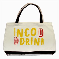 Cinco De Drinko Basic Tote Bag (two Sides) by CraftyLittleNodes