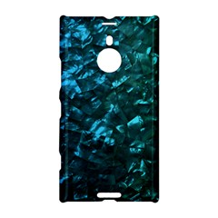 Ocean Blue and Aqua Mother of Pearl Nacre Pattern Nokia Lumia 1520 by PodArtist