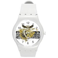 Andy Da Man Round Plastic Sport Watch (m) by Acid909
