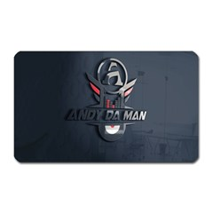 Andy Da Man 3d Dark Magnet (rectangular) by Acid909