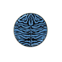 Skin2 Black Marble & Blue Colored Pencil (r) Hat Clip Ball Marker (10 Pack) by trendistuff