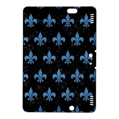 Royal1 Black Marble & Blue Colored Pencil (r) Kindle Fire Hdx 8 9  Hardshell Case by trendistuff