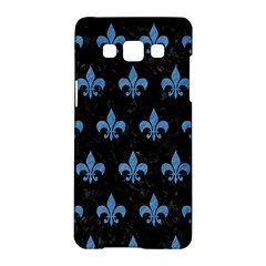 Royal1 Black Marble & Blue Colored Pencil (r) Samsung Galaxy A5 Hardshell Case  by trendistuff