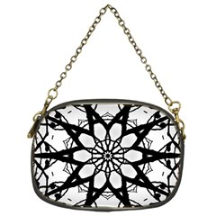 Pattern Abstract Fractal Chain Purses (one Side)  by Nexatart