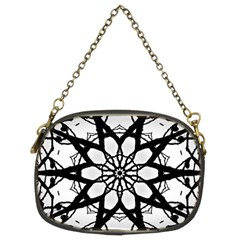 Pattern Abstract Fractal Chain Purses (two Sides)  by Nexatart