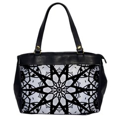 Pattern Abstract Fractal Office Handbags by Nexatart