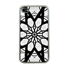 Pattern Abstract Fractal Apple Iphone 4 Case (clear) by Nexatart