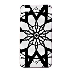 Pattern Abstract Fractal Apple Iphone 4/4s Seamless Case (black) by Nexatart