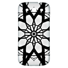 Pattern Abstract Fractal Samsung Galaxy S3 S Iii Classic Hardshell Back Case by Nexatart