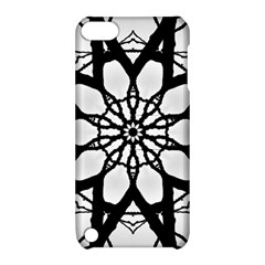 Pattern Abstract Fractal Apple Ipod Touch 5 Hardshell Case With Stand by Nexatart