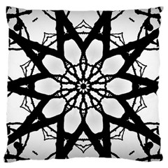 Pattern Abstract Fractal Standard Flano Cushion Case (two Sides) by Nexatart
