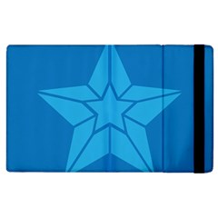 Star Design Pattern Texture Sign Apple Ipad 3/4 Flip Case by Nexatart