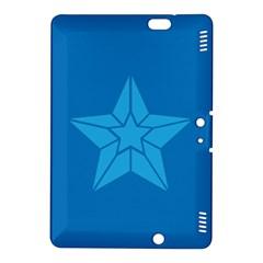 Star Design Pattern Texture Sign Kindle Fire Hdx 8 9  Hardshell Case by Nexatart