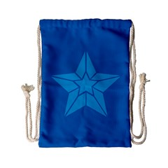 Star Design Pattern Texture Sign Drawstring Bag (small) by Nexatart