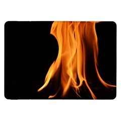 Fire Flame Pillar Of Fire Heat Samsung Galaxy Tab 8 9  P7300 Flip Case by Nexatart