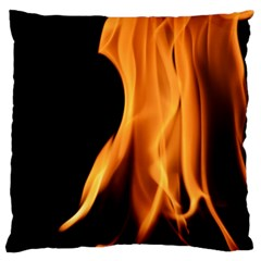 Fire Flame Pillar Of Fire Heat Large Flano Cushion Case (two Sides) by Nexatart