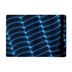 Background Light Glow Blue Ipad Mini 2 Flip Cases by Nexatart