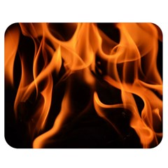 Fire Flame Heat Burn Hot Double Sided Flano Blanket (medium)  by Nexatart