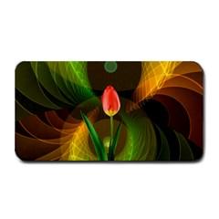 Tulip Flower Background Nebulous Medium Bar Mats by Nexatart