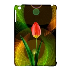 Tulip Flower Background Nebulous Apple Ipad Mini Hardshell Case (compatible With Smart Cover) by Nexatart