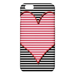 Heart Stripes Symbol Striped Iphone 6 Plus/6s Plus Tpu Case by Nexatart