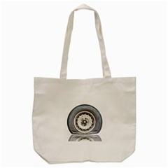 Flat Tire Vehicle Wear Street Tote Bag (cream) by Nexatart