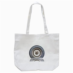 Flat Tire Vehicle Wear Street Tote Bag (white) by Nexatart