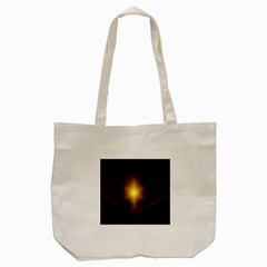 Background Christmas Star Advent Tote Bag (cream) by Nexatart