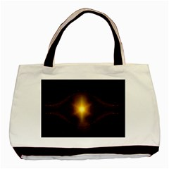 Background Christmas Star Advent Basic Tote Bag (two Sides) by Nexatart