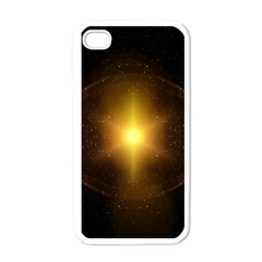 Background Christmas Star Advent Apple Iphone 4 Case (white) by Nexatart