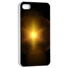 Background Christmas Star Advent Apple Iphone 4/4s Seamless Case (white) by Nexatart