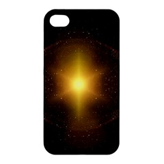 Background Christmas Star Advent Apple Iphone 4/4s Hardshell Case by Nexatart