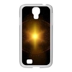 Background Christmas Star Advent Samsung Galaxy S4 I9500/ I9505 Case (white) by Nexatart