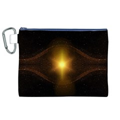 Background Christmas Star Advent Canvas Cosmetic Bag (xl) by Nexatart
