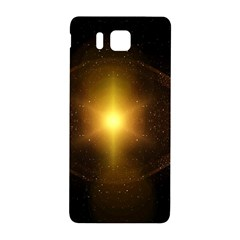 Background Christmas Star Advent Samsung Galaxy Alpha Hardshell Back Case by Nexatart
