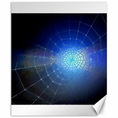 Network Cobweb Networking Bill Canvas 8  X 10  by Nexatart