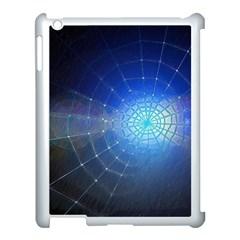 Network Cobweb Networking Bill Apple Ipad 3/4 Case (white) by Nexatart