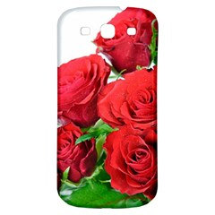 A Bouquet Of Roses On A White Background Samsung Galaxy S3 S Iii Classic Hardshell Back Case by Nexatart