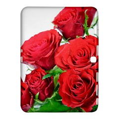 A Bouquet Of Roses On A White Background Samsung Galaxy Tab 4 (10 1 ) Hardshell Case  by Nexatart