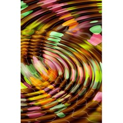 Wave Rings Circle Abstract 5 5  X 8 5  Notebooks by Nexatart