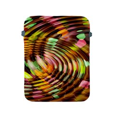 Wave Rings Circle Abstract Apple Ipad 2/3/4 Protective Soft Cases by Nexatart