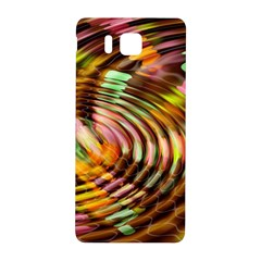 Wave Rings Circle Abstract Samsung Galaxy Alpha Hardshell Back Case by Nexatart
