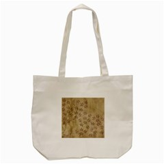 Parchment Paper Old Leaves Leaf Tote Bag (cream) by Nexatart