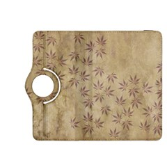 Parchment Paper Old Leaves Leaf Kindle Fire Hdx 8 9  Flip 360 Case by Nexatart