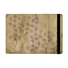 Parchment Paper Old Leaves Leaf Ipad Mini 2 Flip Cases by Nexatart