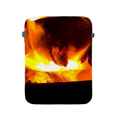 Fire Rays Mystical Burn Atmosphere Apple Ipad 2/3/4 Protective Soft Cases by Nexatart