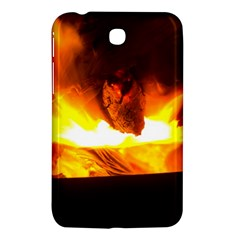 Fire Rays Mystical Burn Atmosphere Samsung Galaxy Tab 3 (7 ) P3200 Hardshell Case  by Nexatart