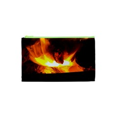 Fire Rays Mystical Burn Atmosphere Cosmetic Bag (xs) by Nexatart